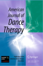 American Journal of Dance Therapy cover
